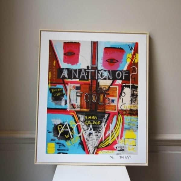contemporary art design framed prints designyard dublin ireland banksy bambi jean-michel basquiat street art los angeles santa monica saatchi monaco st tropez nyc manhattan london