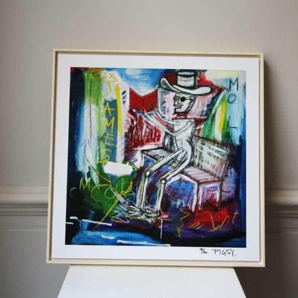 contemporary art framed prints designyard dublin ireland belfast los angles santa monica california nyc london pigsy mo laoch basquiat banksy stormzy bambi