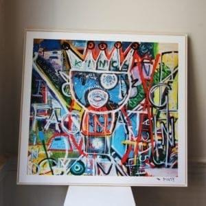 framed print contemporary art pigsy i find you fascinating designyard dublin ireland