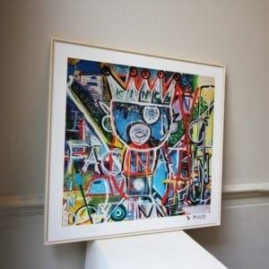 contemporary art framed print designyard dublin ireland i find you fascinating pigsy