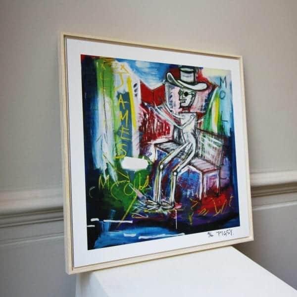 contemporary art framed prints designyard dublin ireland belfast los angles santa monica california nyc london pigsy mo laoch