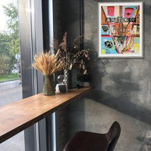 pigsy framed print a nation of fools again large designyard contemporary art gallery dublin ireland