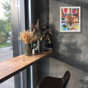 pigsy framed print a nation of fools again small designyard contemporary art gallery dublin ireland