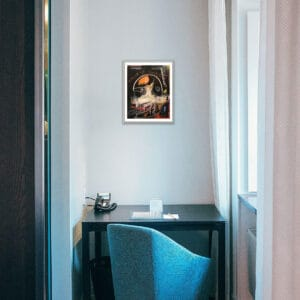 pigsy framed print cyberpunks small designyard contemporary art gallery dublin ireland