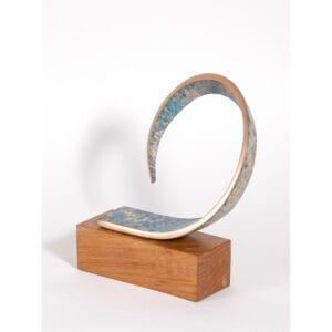 philip hearsey thinking of summer bronze edition of 7 contemporary sculpture designyard dublin ireland contemporary art gallery