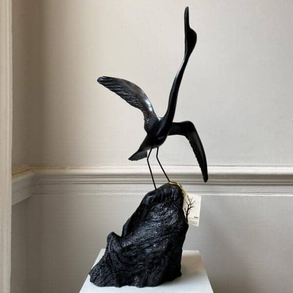 tony downey bog oak sculpture decision time designyard contemporary art sculpture jewellery gallery dublin ireland corporate gift award manhattan new york paris rome london venice sweden