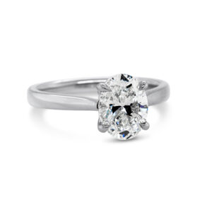 designyard platinum 2ct lab grown oval diamond engagement ring contemporary jewellery gallery dublin ireland handmade jewelry irish design designer jewellers shop