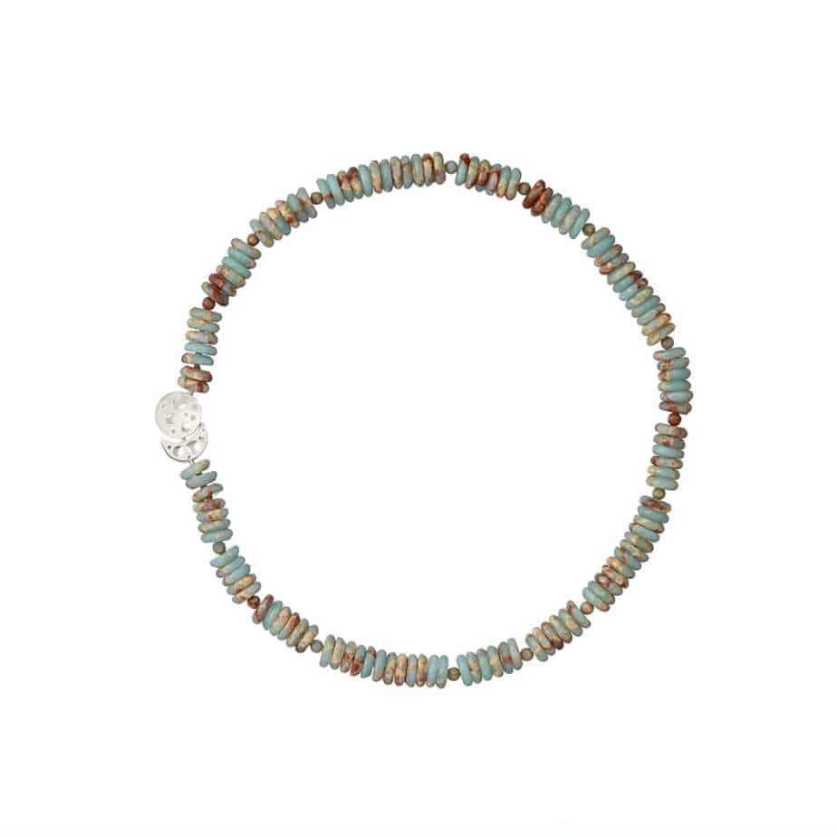 nicole van der wolf sterling silver coral reef necklace jasper rondelle designyard contemporary jewellery gallery dublin ireland