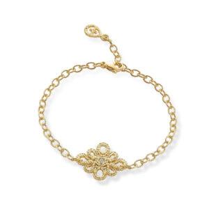 brigitte adolph bracelet miss medea in 18k yellow gold with brilliant cut diamonds 1127-gg-cha bearbeitet designyard contemporary jewellery gallery dublin ireland
