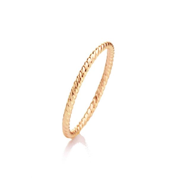 brigitte adolph ring annemarie in 18k rose gold 330-rg designyard contemporary jewellery gallery dublin ireland