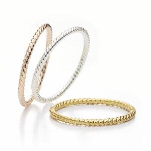 brigitte adolph ring annemarie in 18k yellow gold 330-gg designyard contemporary jewellery gallery dublin ireland