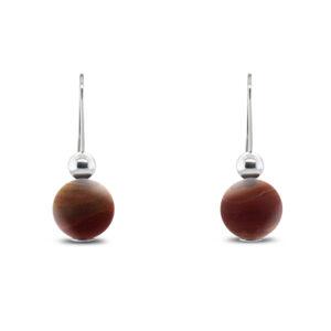 inga reed sterling silver landscape jasper drop earrings designyard contemporary jewellery gallery dublin ireland
