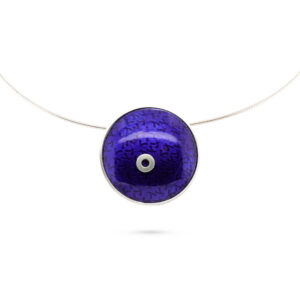 jane moore sterling silver purple enamel polo necklace designyard contemporary jewellery gallery dublin ireland