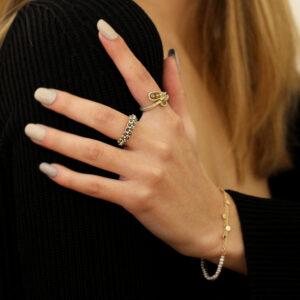 myriam oude vrielink 14k yellow gold handmade fine jewelry designyard contemporary jewellery gallery dublin ireland