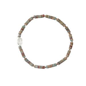 nicole van der wolf silver coral reef necklace heishi jasper necklace designyard contemporary jewellery gallery dublin ireland