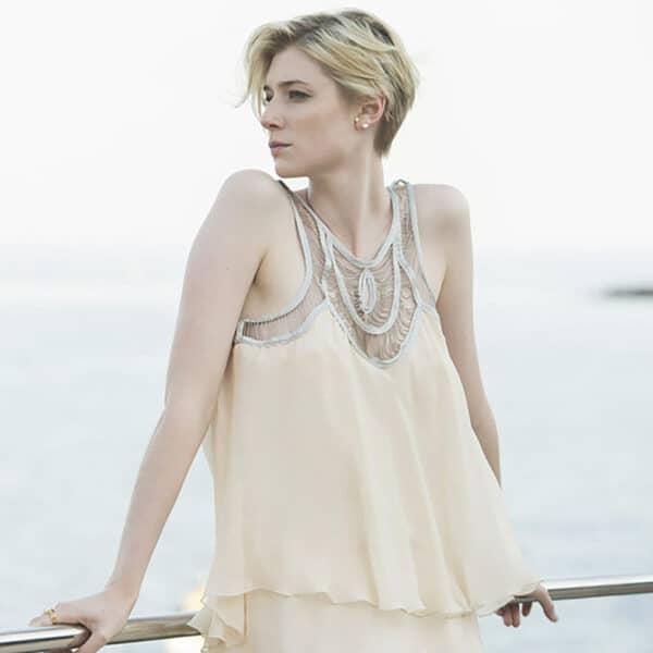 josephine bergsoe keshi pearl seafire oxi earrings designyard contemporary jewellery gallery dublin ireland