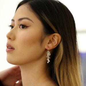 neeltje huddleston slater sterling silver lilac enamel petal earrings designyard contemporary jewellery gallery dublin ireland