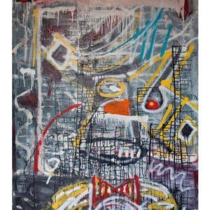 pigsy framed print clown small designyard contemporary art gallery dublin ireland