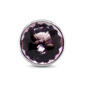 rudolf heltzel 18k white gold speciality cut amethyst ring designyard contemporary jewellery gallery dublin ireland