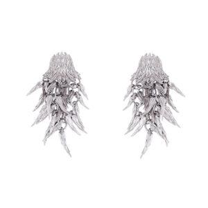 simon harrison dionysus bear drop earrings shj180-03-03 designyard contemporary jewellery gallery dublin ireland handmade luxury designer design jewelry shop