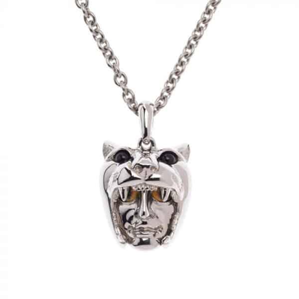 simon harrison dionysus leopard pendant shj216-03-03 designyard contemporary jewellery gallery dublin irelandhandmade jewelry designer design shop