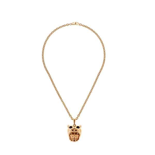 simon harrison dionysus leopard pendant shj216-09-03 designyard contemporary jewellery gallery dublin ireland handmade designer jewelry design shop