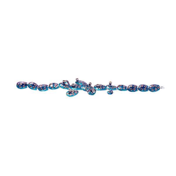 simon harrison kahlo bracelet ombre shj246-01-339 designyard contemporary jewellery gallery dublin ireland handmade jewelry designer design shop jewellers