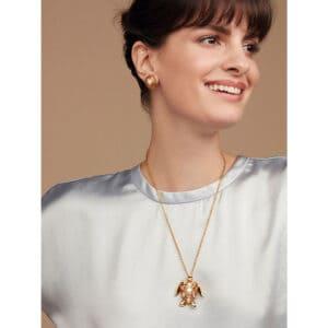 simon harrison mock turtle pendant golden shadow shj157-02-96 designyard contemporary jewellery gallery dublin ireland handmade jewelry shop design designer