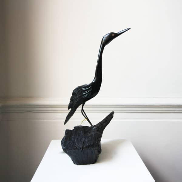 tony downey bog oak wood sculpture focus designyard contemporary art gallery dubin ireland irish handmade art design designer shop