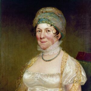 First Lady Dolley Madison 1817
