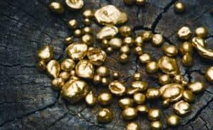 Fairtrade gold on a wood backdrop designyard ireland