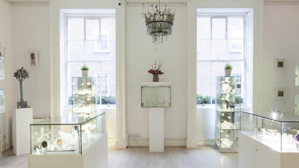 Interior DesignYard Contemporary Jewellery Gallery in Dublin, Ireland