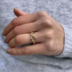 Eternity ring by friederike grace at designyard contemporary jewellery dublin ireland