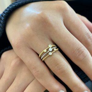 acrobat rings by niessing at designyard contemporary jewellery dublin ireland