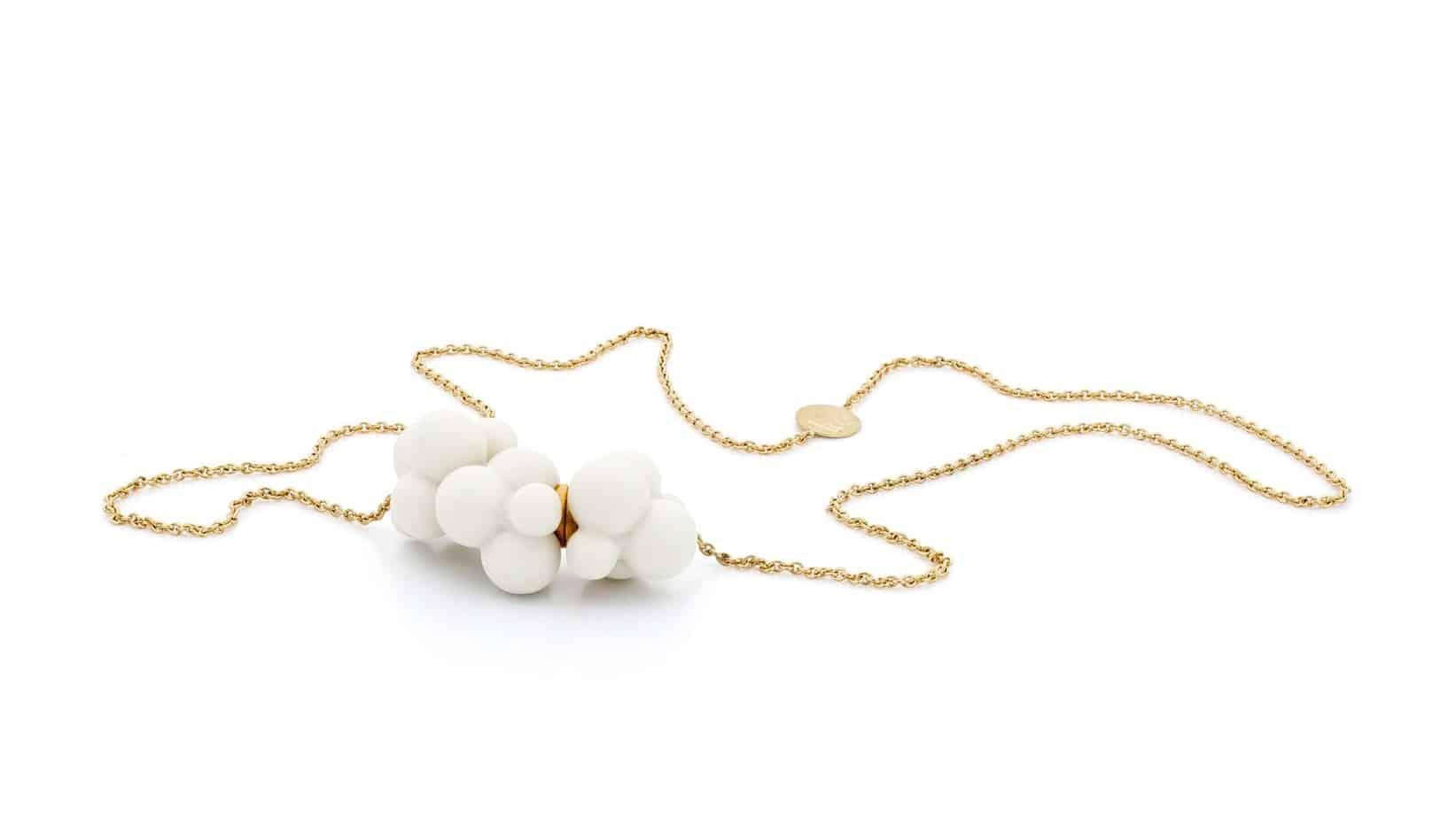 Cloud necklace by atelier luz at designyard contemporary jewellery gallery