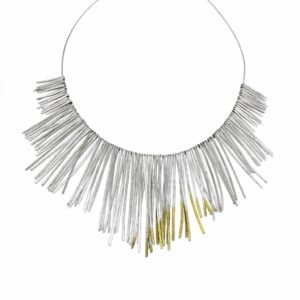 Shimmer necklace by kokkino at designyard contemplrary jewellery gallery dublin ireland