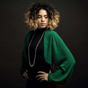 Claudia Milic Long Siara Necklace at DesignYard Contemporary Jewellery Dublin Ireland