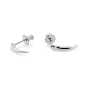 paul finch sterling silver small spike earring designyard contemporary jewellery gallery dublin ireland handmade jewelry design designer irish jewellers shop