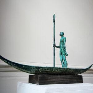 clodagh redden charon ii green bronze ceramic sculpture designyard contemporary art gallery dublin ireland art gallery dublin ireland
