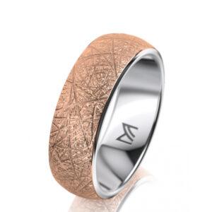 meister 18k rose white gold wedding ring designyard contemporary jewellery gallery dublin ireland wedding ring handmade jewelry design designer jewellers irish shop