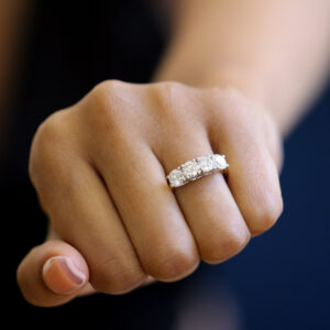 ronan campbell platinum 18k yellow gold 2ct diamond engagement ring designyard contemporary jewellery gallery dublin ireland alternative jewelry design designer irish jewellers shop